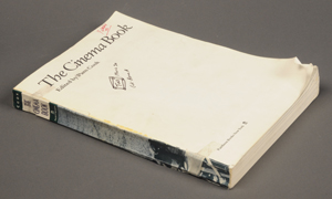 David Foster Wallace's copy of 'The Cinema Book.' Photo by Pete Smith.
