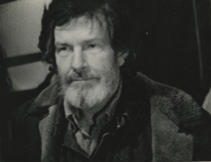 Undated photo of John Cage by Anton Perich.