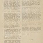 A letter from Dashiell Hammett to Lillian Hellman, January 5, 1944. From the Dashiell Hammett papers.