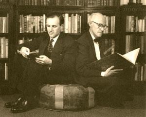 Anthony and Bertram Rota. Photo courtesy of Bertram Rota Booksellers.