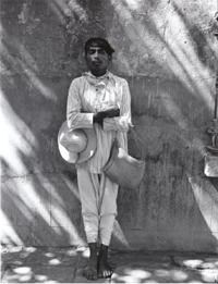 Manuel Álvarez Bravo 'Señor de Papantia' ('Man from Papantia'), 1934-35