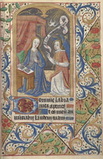 Hours of the Virgin. Matins. Annunciation.