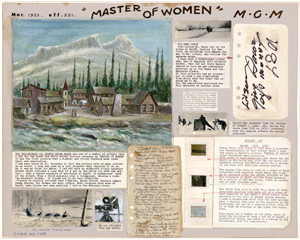 Norman Dawn's special effect card for 'Master of Women'