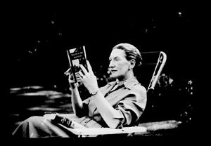 Elizabeth Bowen. Unknown photographer, May 1953.