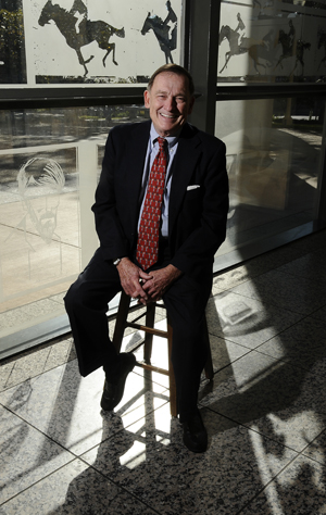 Thomas F. Staley, Director of the Harry Ransom Center at The University of Texas at Austin. Photo by Anthony Maddaloni.