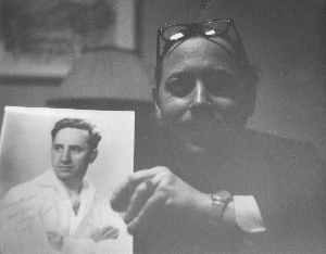 Undated photo of Tennessee Williams. Unidentified photographer.