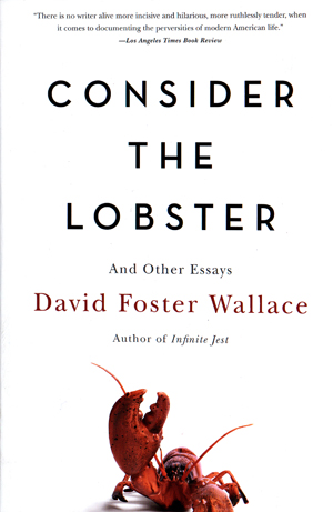 Cover of 'Consider the Lobster' by David Foster Wallace