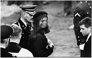 Jackie Kennedy, Arlington, Virginia, 1963. © Elliott Erwitt/MAGNUM PHOTOS.