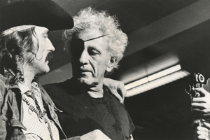 Dennis Hopper and Nicholas Ray, ca. 1971. Photo by Mark Goldstein.