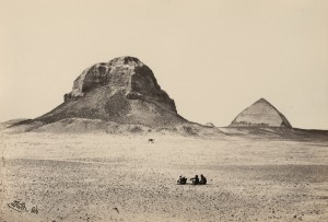 Francis Frith. The Pyramids of Dahshoor?Lower Egypt, Thebes, and the Pyramids?1862 (ca.). Harry Ransom Center.