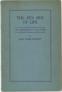 Cover of 'The Sex Side of Life' by Mary Ware Dennet.