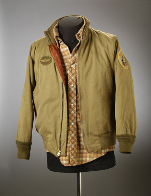 Jacket worn by Robert De Niro in 'Taxi Driver' from the Paul Schrader collection.