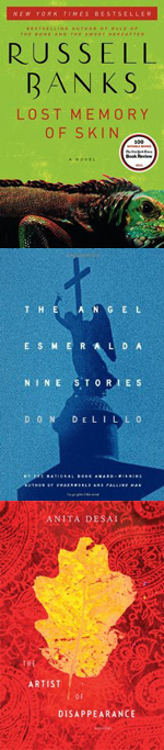 Russell Banks, Don DeLillo, and Anita Desai were selected as finalists for the 2012 PEN/Faulkner Award for Fiction.
