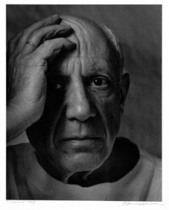 Arnold Newman. 'Pablo Picasso, France, 1954.' Arnold Newman/Getty Images.