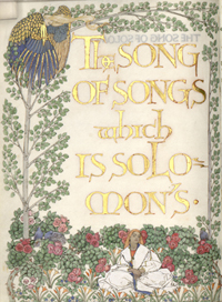 """The Song of Song Which Is Solomon's"" (1902)."