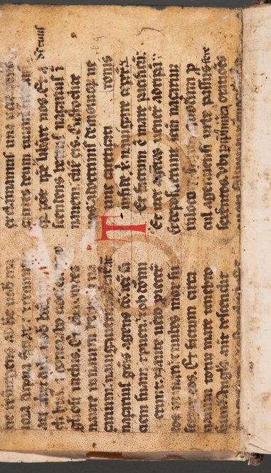 Early printed book contains rare evidence of medieval spectacles
