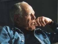 Photo of James Salter by Linda Gervin.