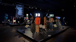 Costumes from the Robert De Niro collection are on display at the Victoria and Albert Museum in London. ©V&A images.