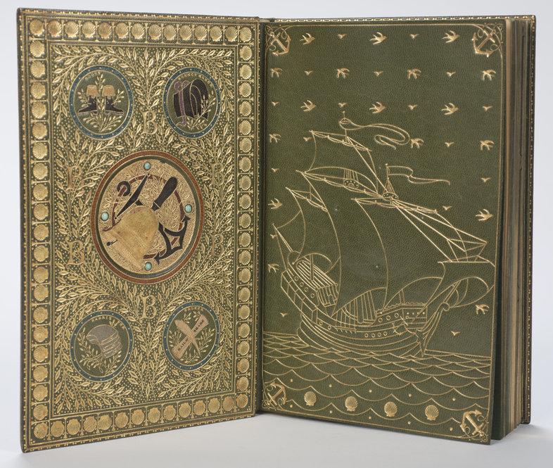 Old Book Inside Cover : Francis sangorski