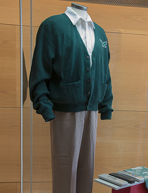 One of Robert De Niro's costume ensembles worn in 'Silver Linings Playbook.' Photo by Pete Smith.