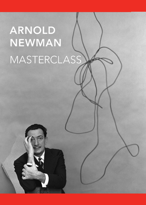 "Graphic identity for the exhibition ""Arnold Newman: Masterclass."""
