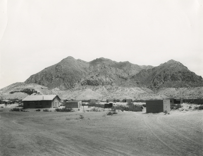W.D. Smithers, View of Study Butte, Texas, 1932.
