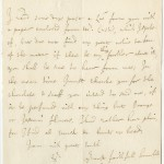 Letter from William Bridgeman, Whitehall, to Sir Richard Bulstrode, Brussels, on behalf of Robert Spencer, Earl of Sunderland and Secretary of State, 1686 May 23. In this letter, Bridgeman thanks Bulstrode for offering to send him chocolate and snuff from the continent, and details his preference for flowery or unscented varieties.