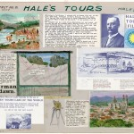 "Norman Dawn's card ""Hale's Tours of the World"" (1907)."