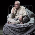 """Actor Brian Dennehy portrays the character Thomas Dunne in the Mark Taper Forum's production of Sebastian Barry's play """"The Steward of Christendom."""" Photo by Craig Schwartz."""