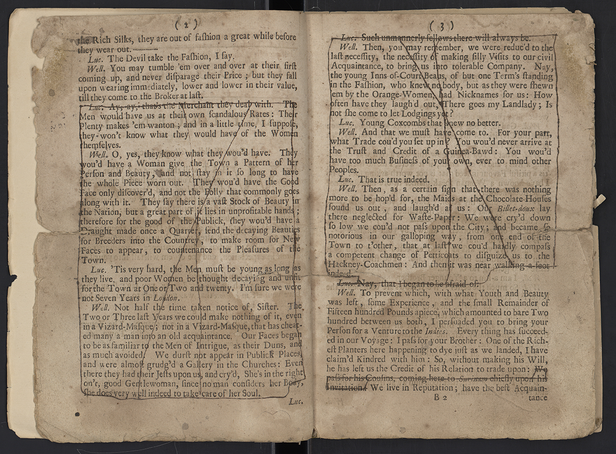 Thomas Southerne Pages  And  In The Promptbook Of Thomas Southernes Play Oroonoko
