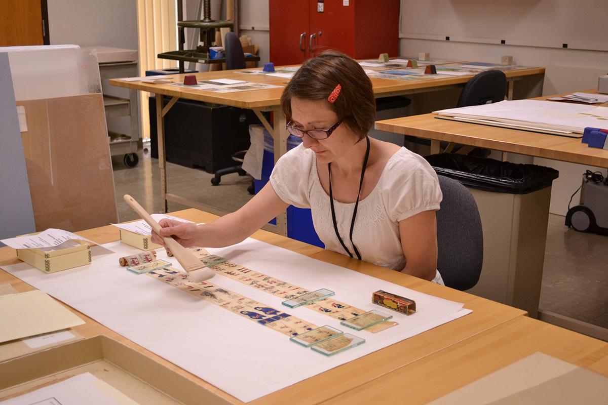 Meet the Staff: Heather Hamilton, Head of Paper Conservation