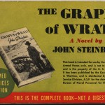 """Cover of Armed Services Edition of John Steinbeck's """"The Grapes of Wrath."""""""