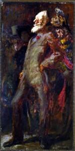 George Bernard Shaw (1856-1950) Oil on canvas, 1943 94 1/2 x 51 inches © Trustees of the Feliks Topolski Estate