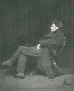 Photo of Ezra Pound by E. O. Hoppe