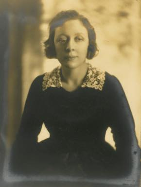 Dame Edith Evans, from the Brian Forbes Collection of Edith Evans at the Harry Ransom Center, University of Texas at Austin.