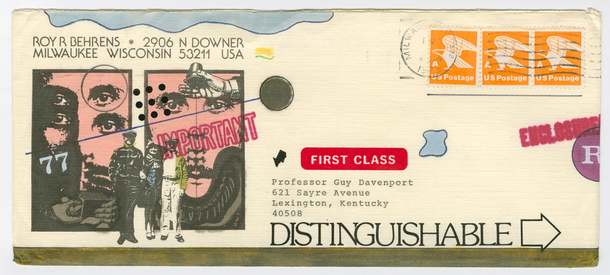 Envelope illustrated by Roy Behrens
