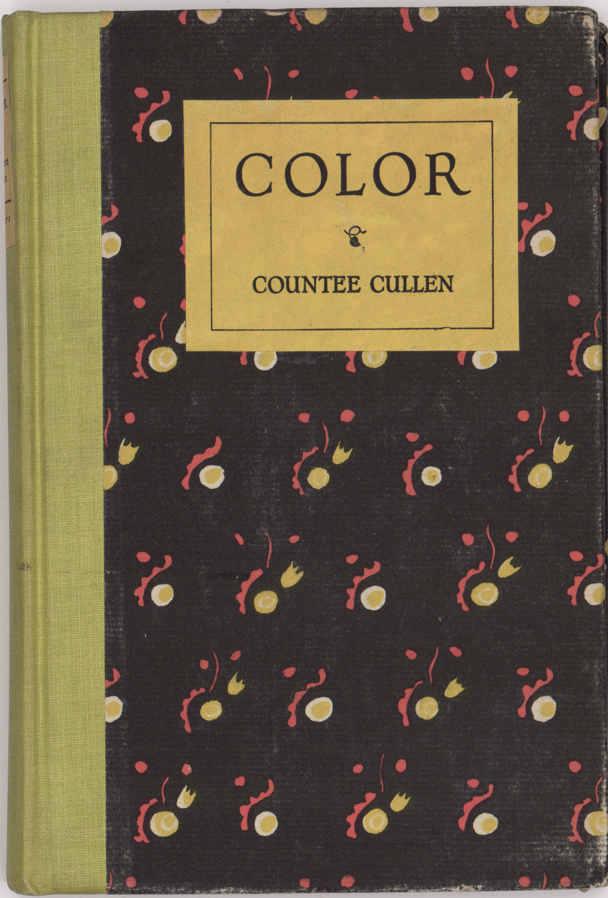 Countée Cullen's first book of poetry, Color (Harper & Brothers, 1925).