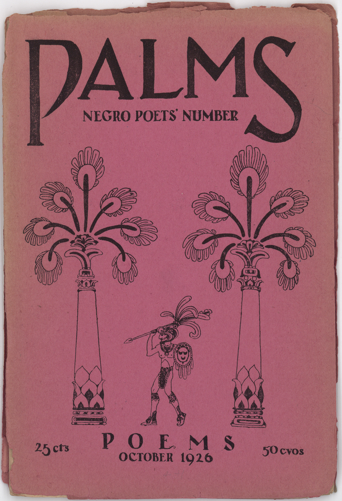 "The Palms ""Negro Poet's Number"" (October 1926)."