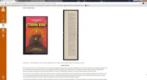 Screen grab of the course's wiki, which was populated by student content.