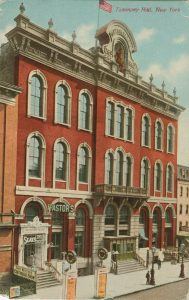 Postcard showing Tony Pastor's 14th Street Theatre. Theater Biography Collection, Harry Ransom Center