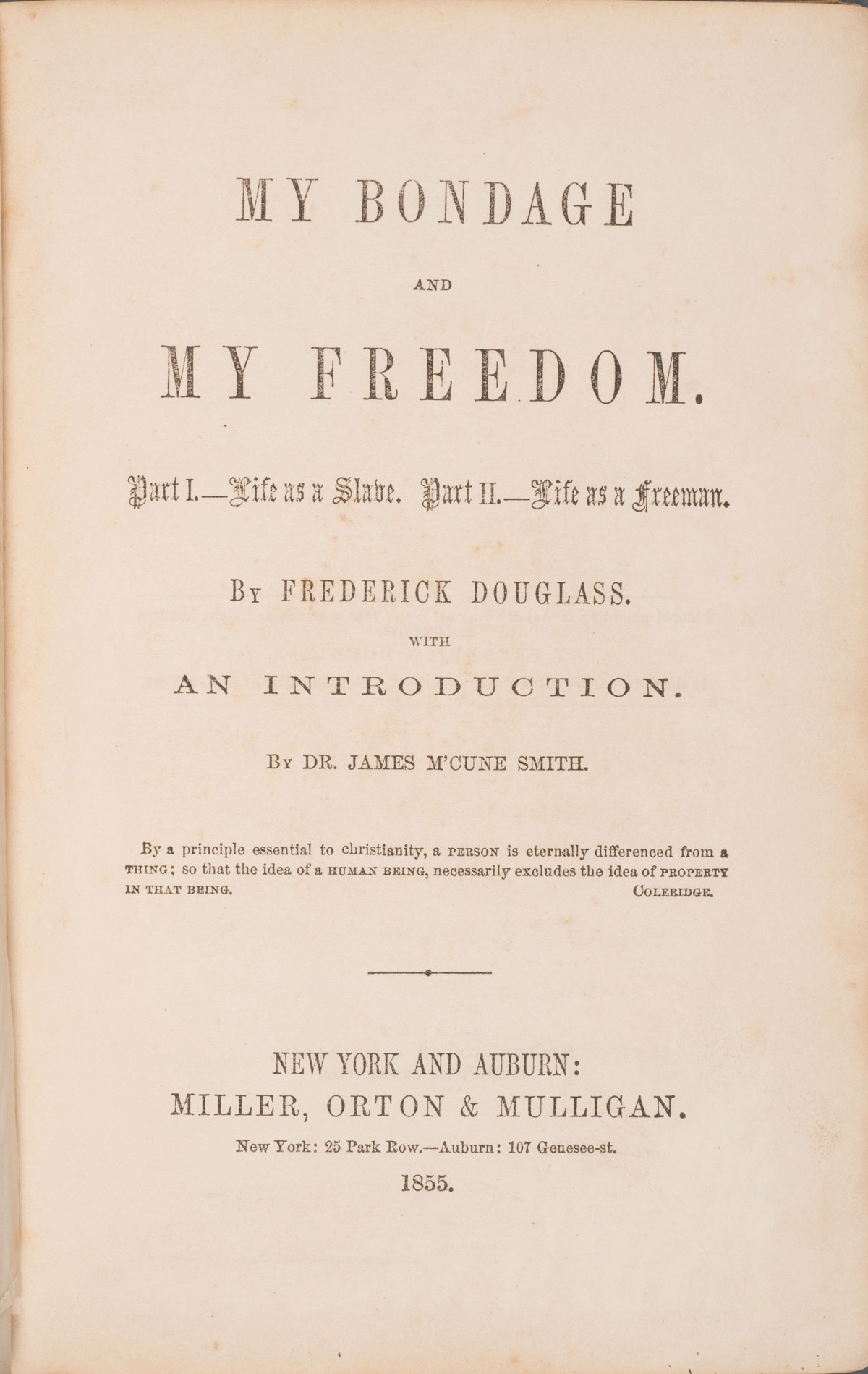 a research paper on frederick douglass Free frederick douglas papers, essays, and research papers.