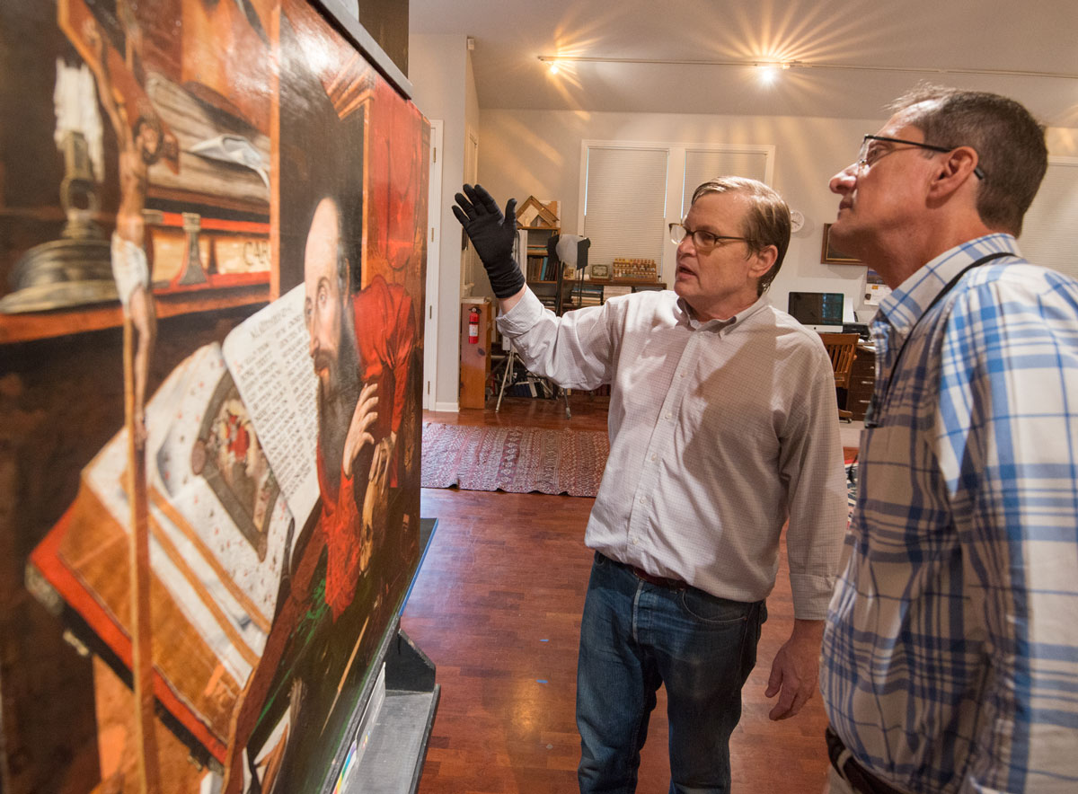 Conservation treatment gives new life to <em>St. Jerome in His Study</em>