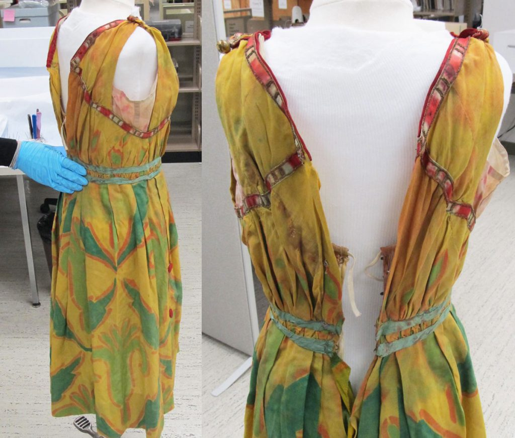 The costume on the first stage of the form
