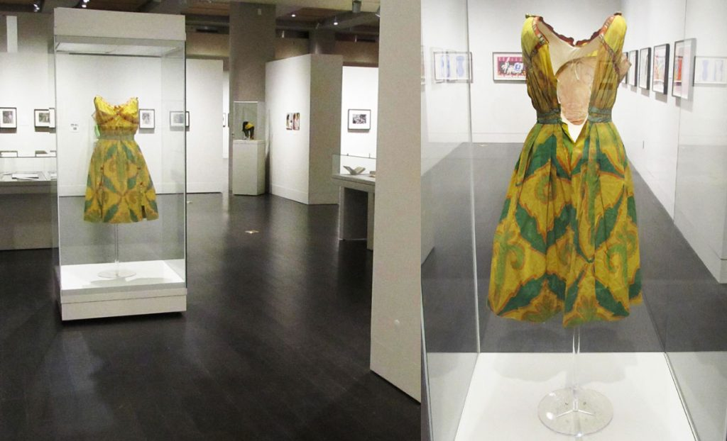 The finished costume in the gallery