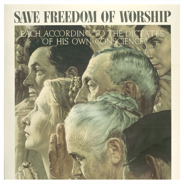 "Exploring Roosevelt's ""Four Freedoms"" in the Ransom Center's collection"