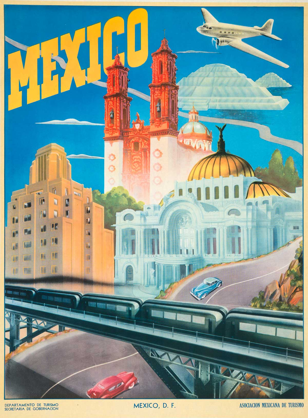 Postcard How To Build Global Community: Take Home A Little Bit Of Mexico With Vintage Travel Postcards