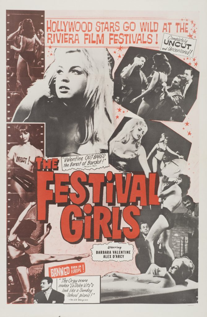 Festival Girls, Date: Unknown, size: 27x41 inches, from the Interstate Theater Collection