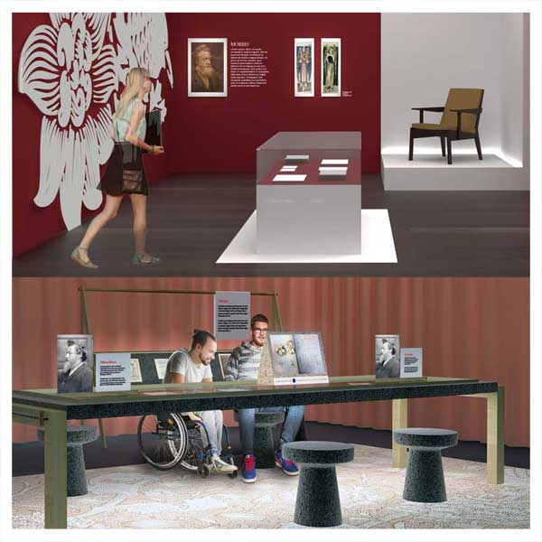 School of Architecture students collaborate with Ransom Center to learn exhibition design