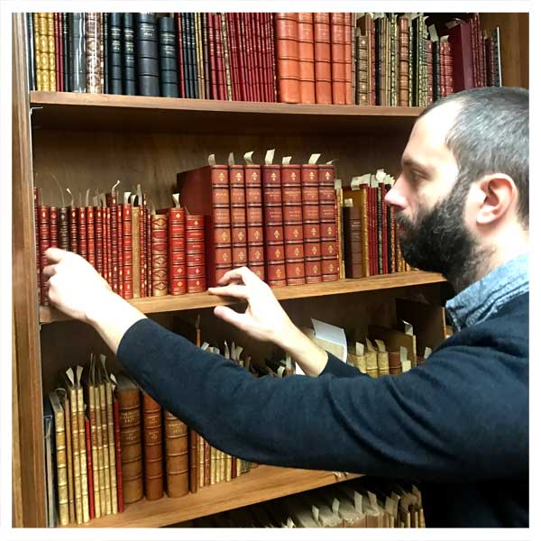 University's foundational rare book collection acquired a century ago