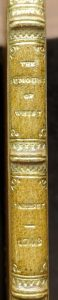 The elegant Riviere binding David Garrick as the author.